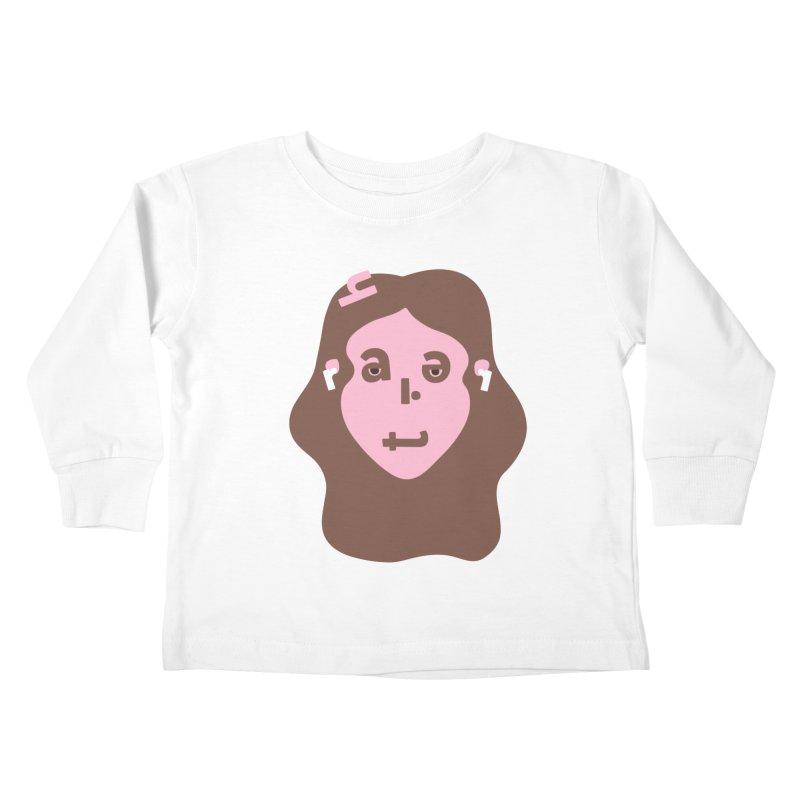 Harriet Kids Toddler Longsleeve T-Shirt by Made by Corey