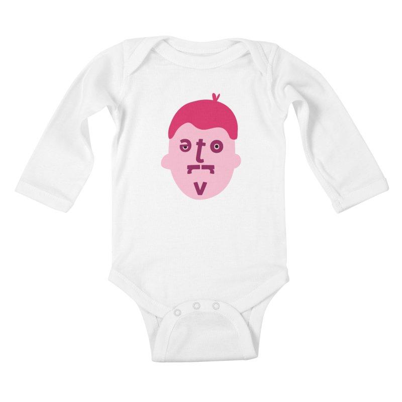 Trevor Kids Baby Longsleeve Bodysuit by Made by Corey