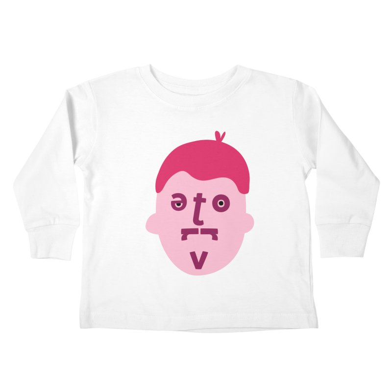 Trevor Kids Toddler Longsleeve T-Shirt by Made by Corey