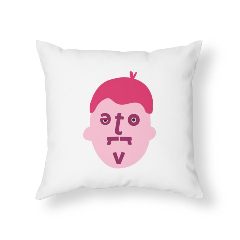 Trevor Home Throw Pillow by Made by Corey