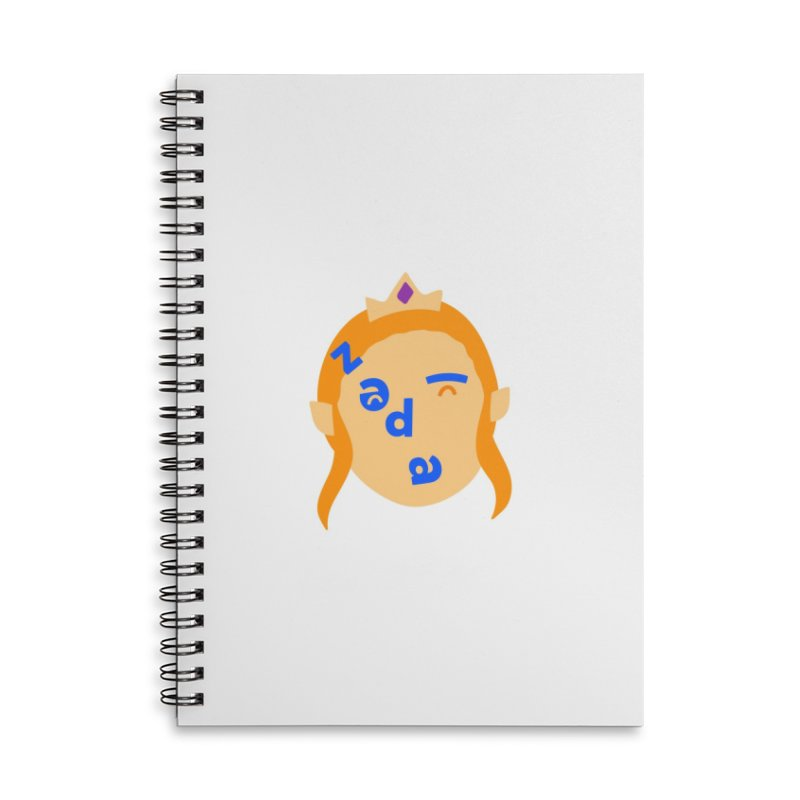 Zelda Accessories Lined Spiral Notebook by Made by Corey