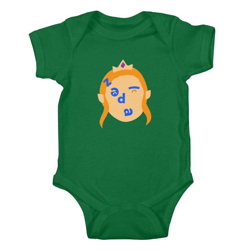 Zelda Kids Baby Bodysuit by Made by Corey