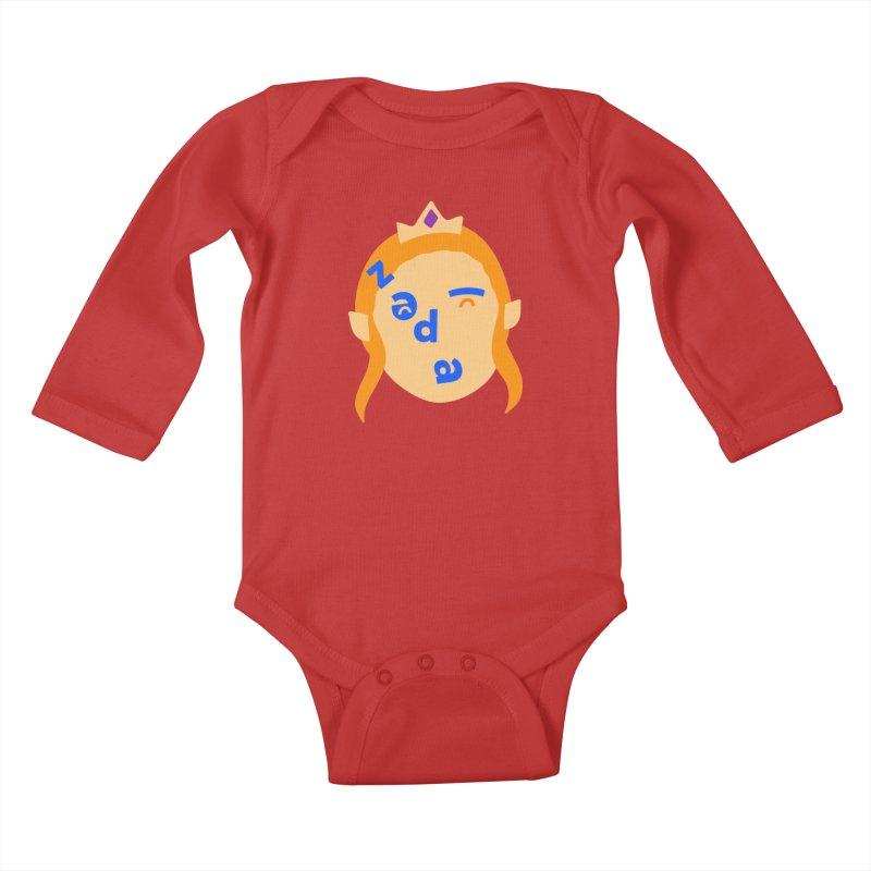 Zelda Kids Baby Longsleeve Bodysuit by Made by Corey