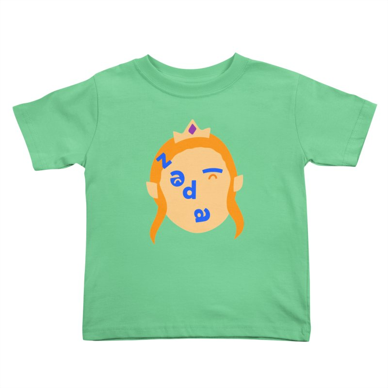 Zelda Kids Toddler T-Shirt by Made by Corey