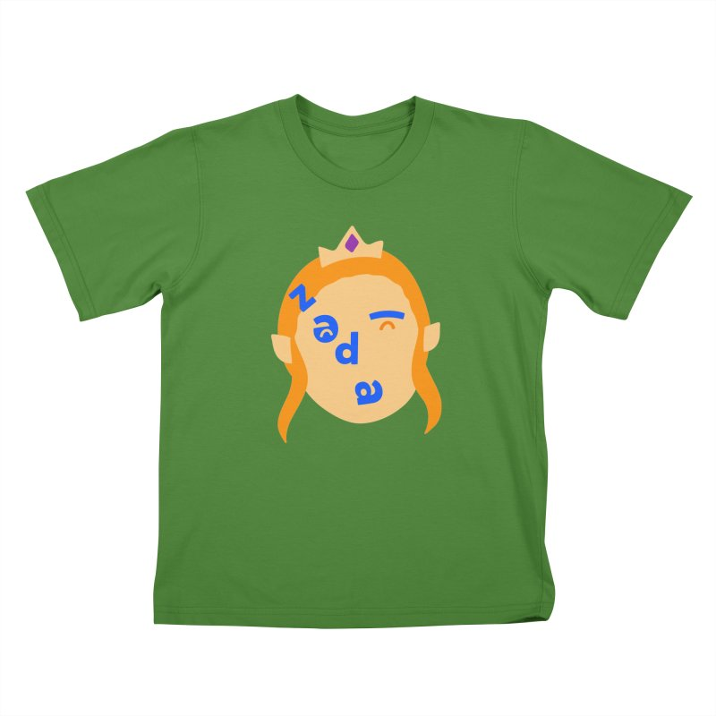 Zelda Kids T-Shirt by Made by Corey