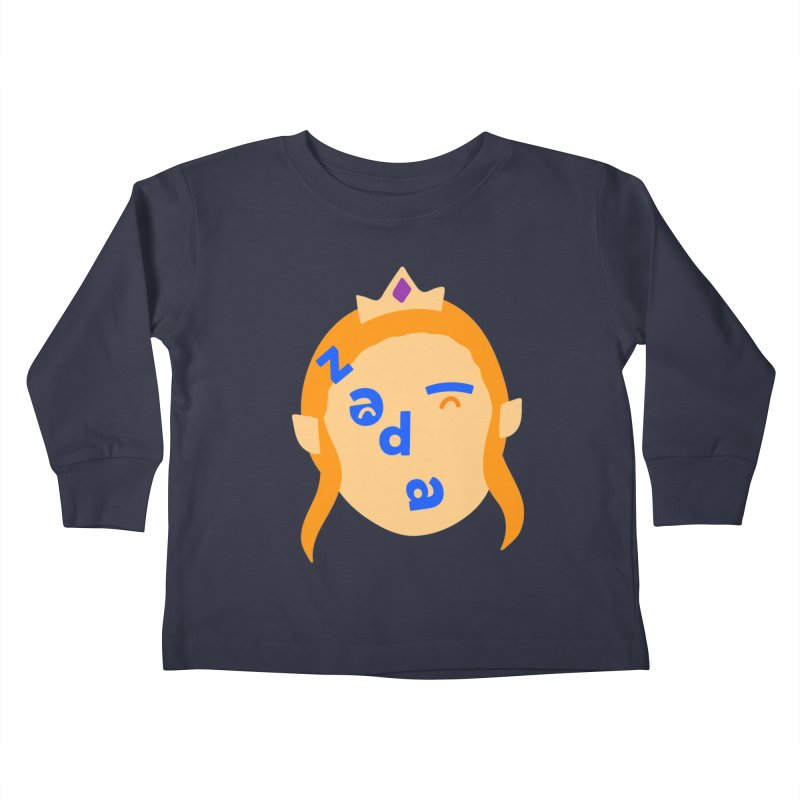 Zelda Kids Toddler Longsleeve T-Shirt by Made by Corey