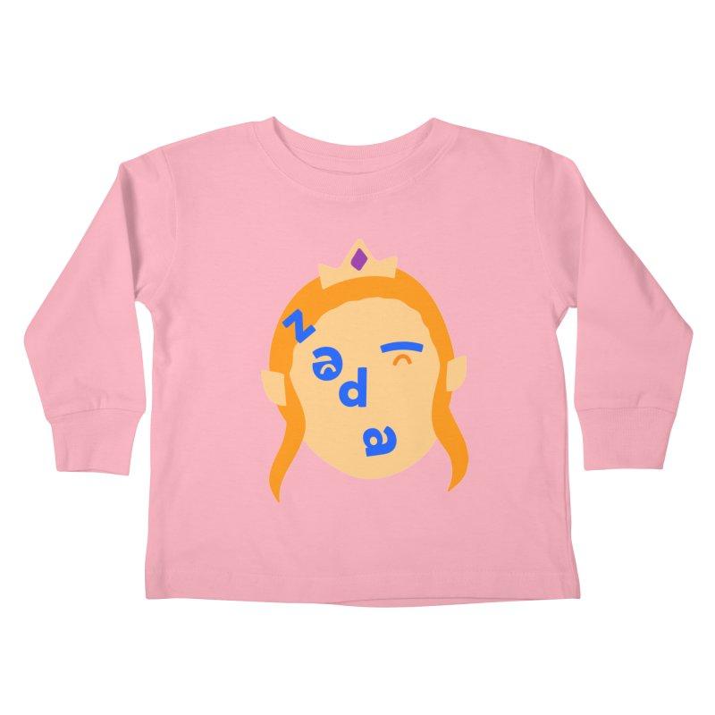 Zelda Kids Toddler Longsleeve T-Shirt by Made by Corey