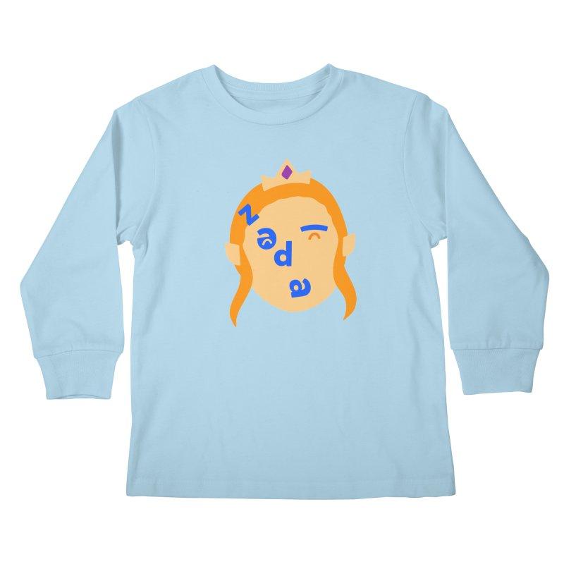 Zelda Kids Longsleeve T-Shirt by Made by Corey
