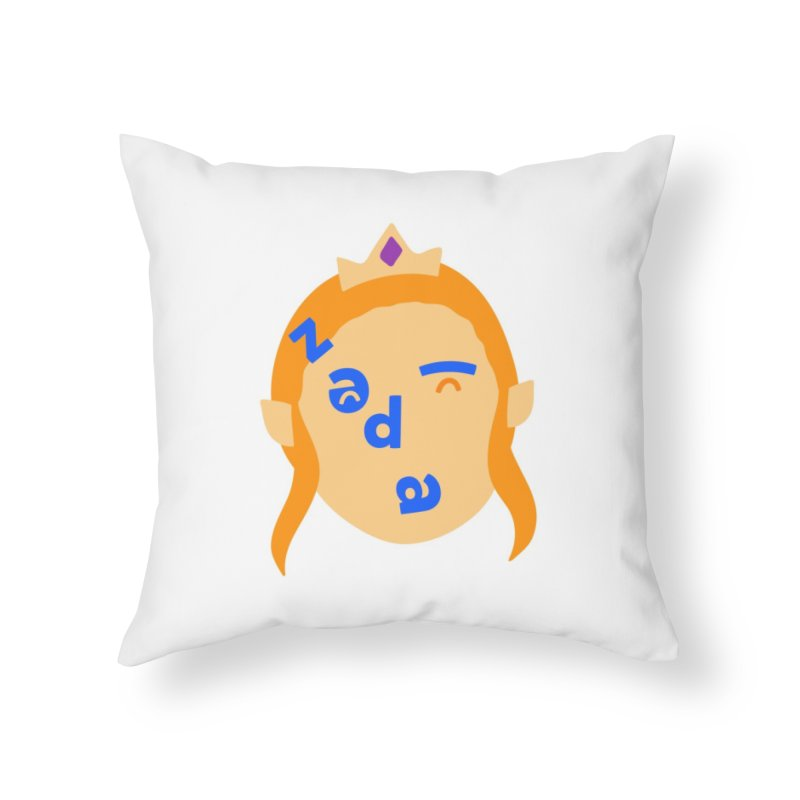Zelda Home Throw Pillow by Made by Corey