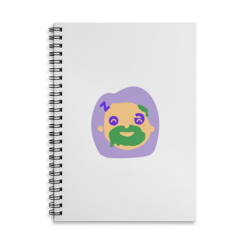 Zoe Accessories Lined Spiral Notebook by Made by Corey