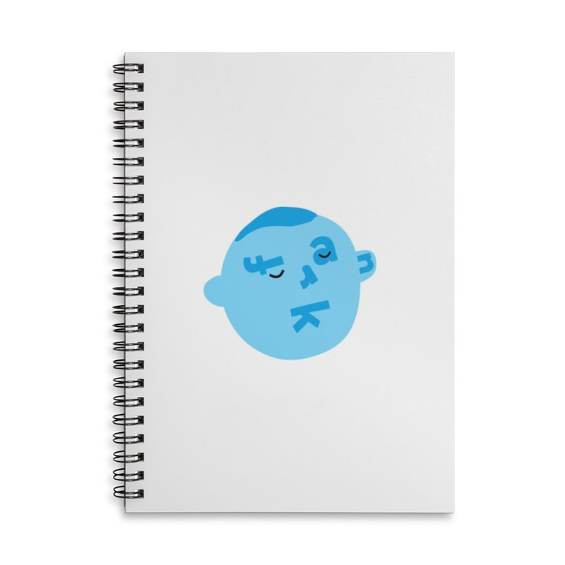 Frank Accessories Lined Spiral Notebook by Made by Corey