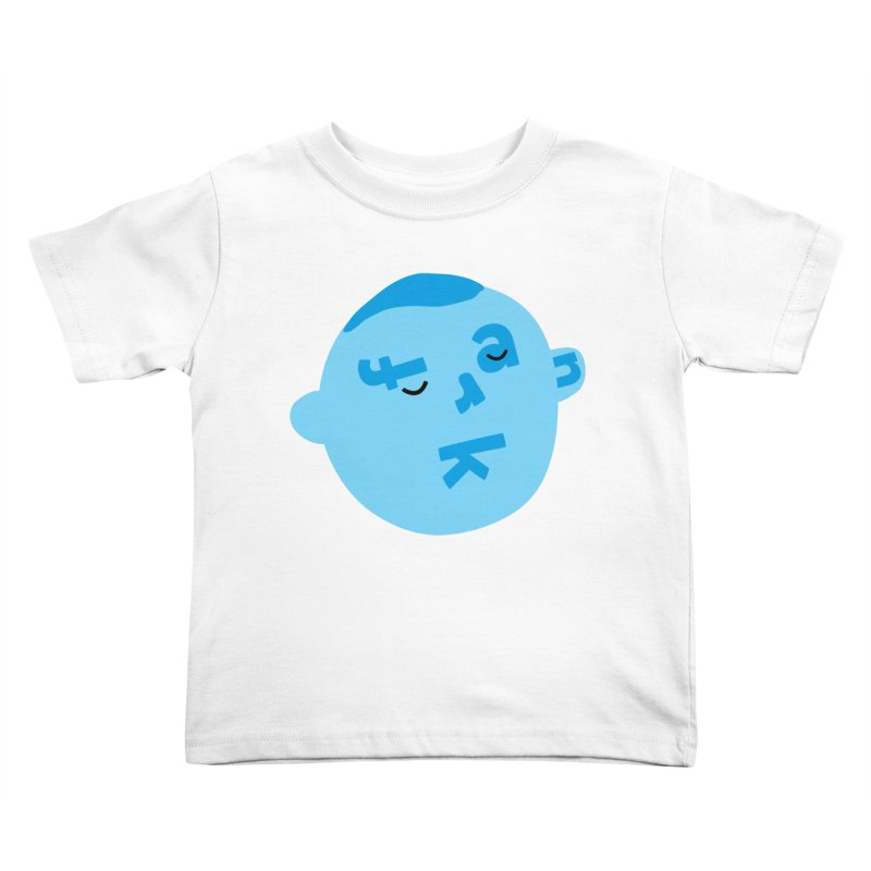 Frank Kids Toddler T-Shirt by Made by Corey