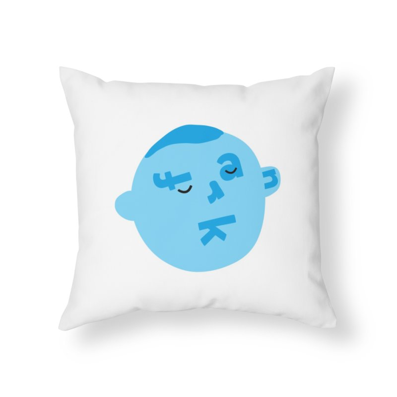 Frank Home Throw Pillow by Made by Corey