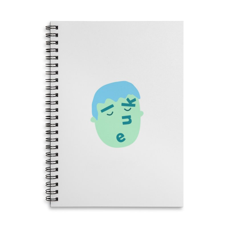 Luke Accessories Lined Spiral Notebook by Made by Corey