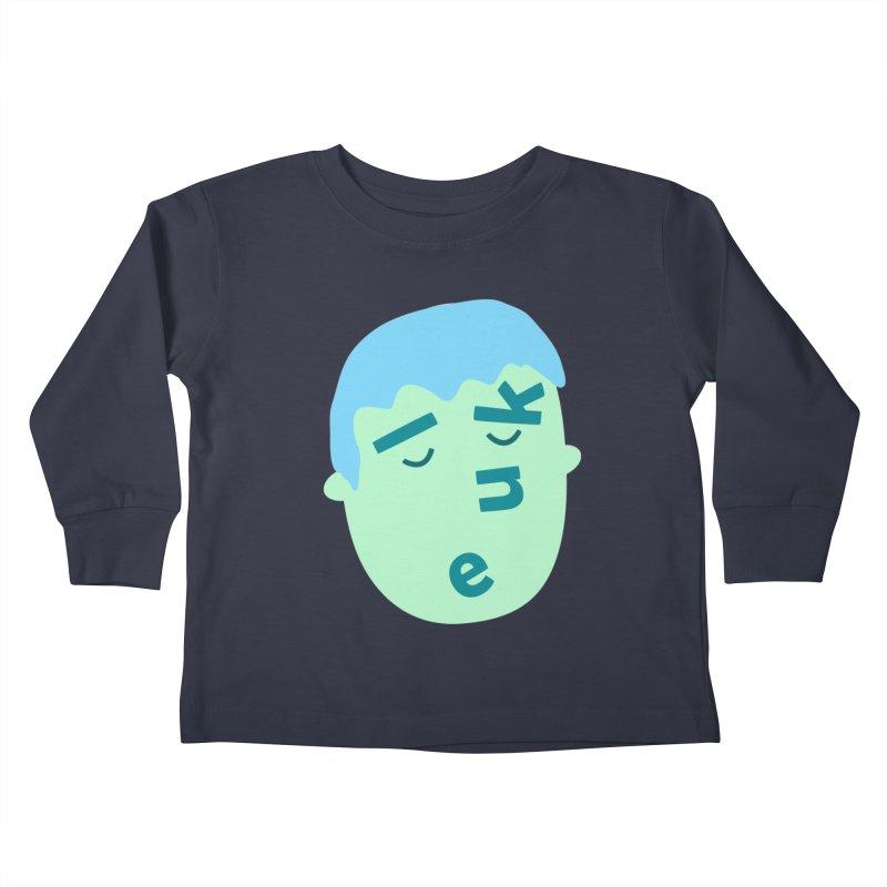 Luke Kids Toddler Longsleeve T-Shirt by Made by Corey