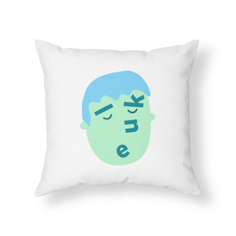 Luke Home Throw Pillow by Made by Corey