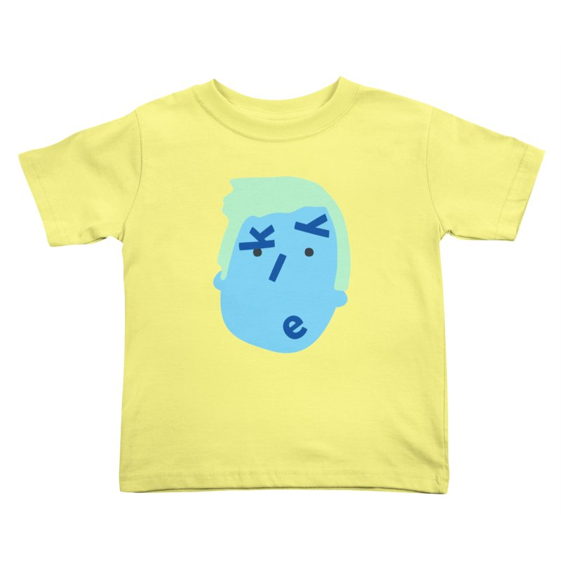 Kyle Kids Toddler T-Shirt by Made by Corey
