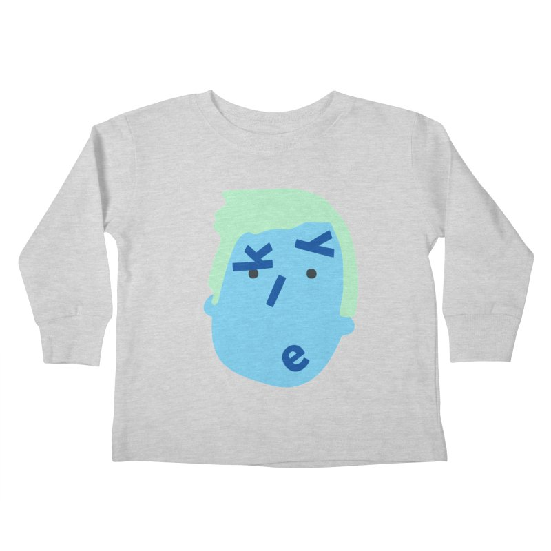 Kyle Kids Toddler Longsleeve T-Shirt by Made by Corey