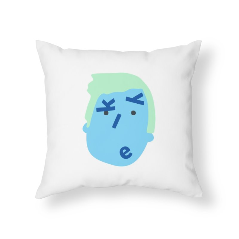 Kyle Home Throw Pillow by Made by Corey