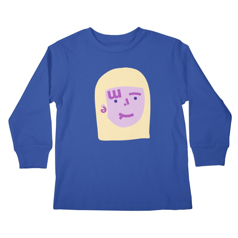 Emily Kids Longsleeve T-Shirt by Made by Corey