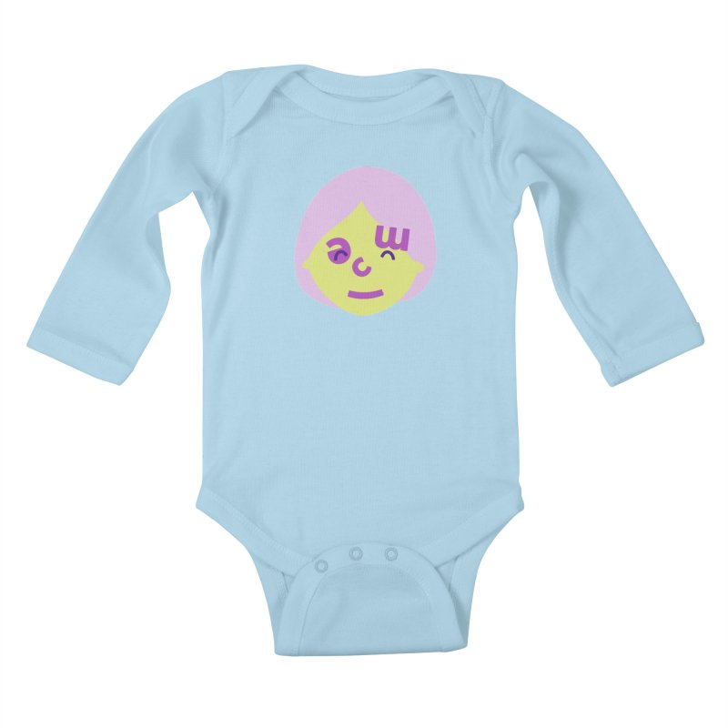 Clem Kids Baby Longsleeve Bodysuit by Made by Corey