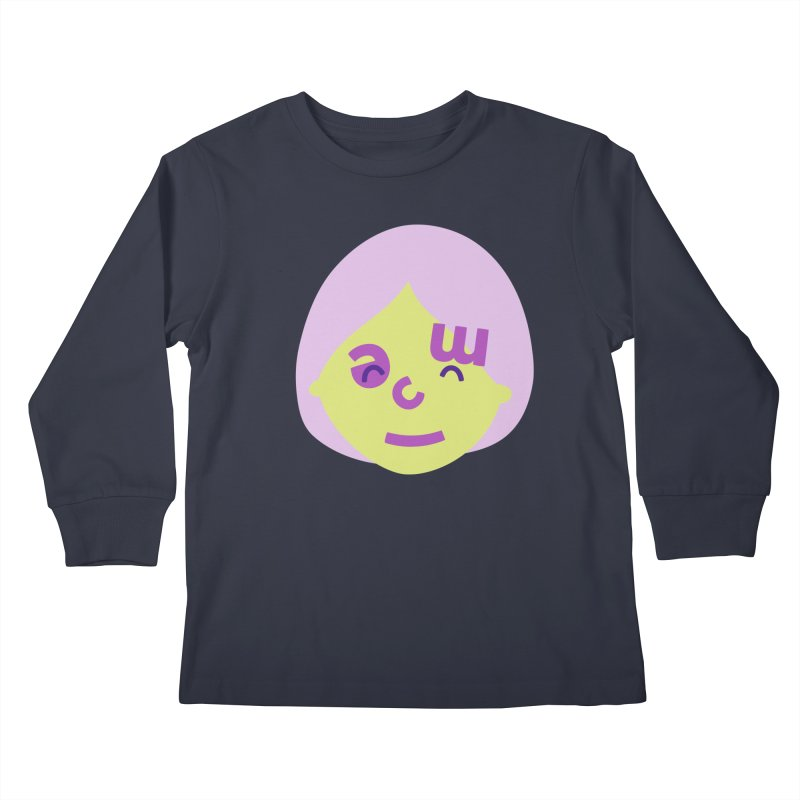 Clem Kids Longsleeve T-Shirt by Made by Corey