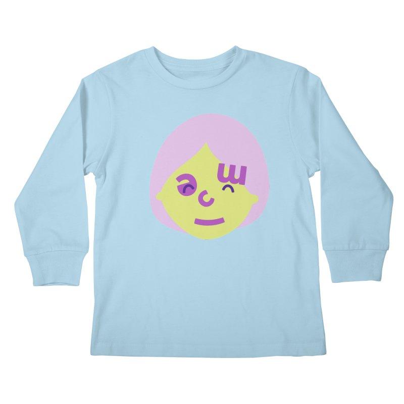 Clem Kids Longsleeve T-Shirt by Made by Corey
