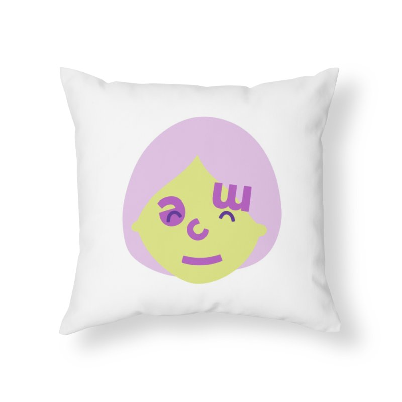 Clem Home Throw Pillow by Made by Corey