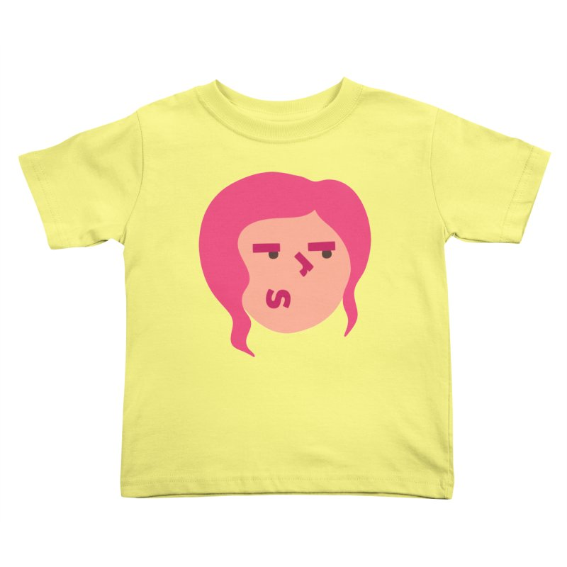 Iris Kids Toddler T-Shirt by Made by Corey