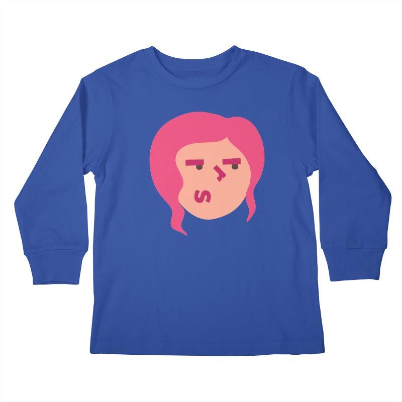 Iris Kids Longsleeve T-Shirt by Made by Corey