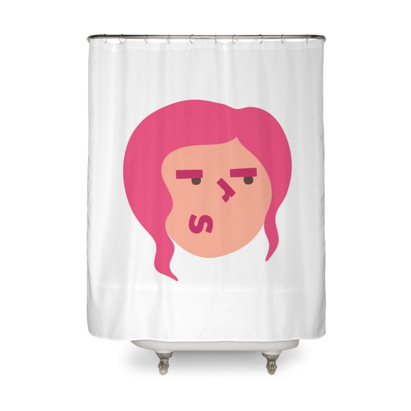 Iris Home Shower Curtain by Made by Corey