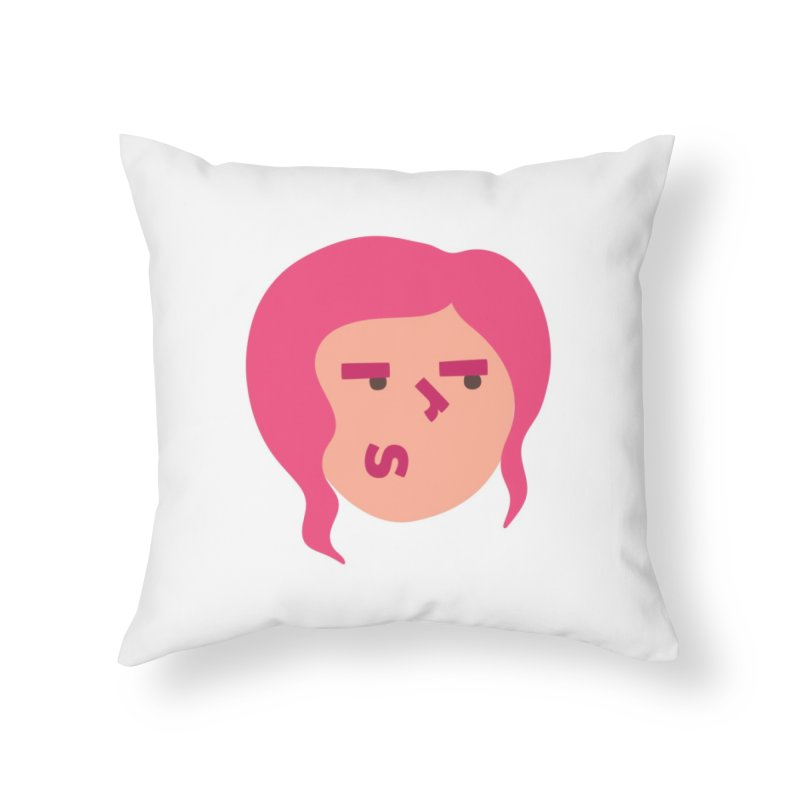 Iris Home Throw Pillow by Made by Corey