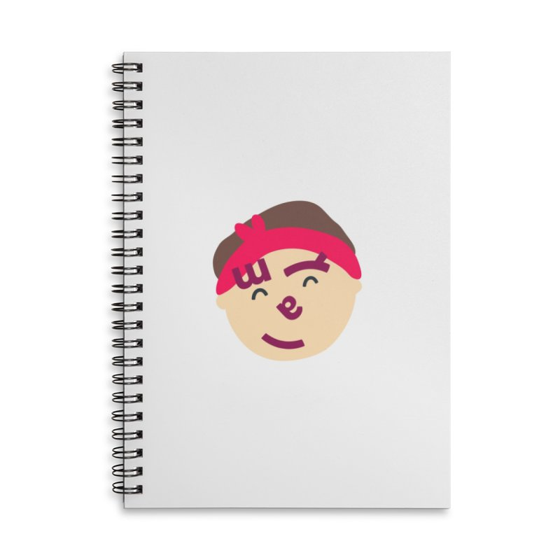 Myla Accessories Lined Spiral Notebook by Made by Corey
