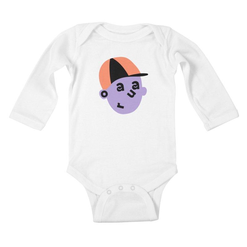 Aaron Kids Baby Longsleeve Bodysuit by Made by Corey