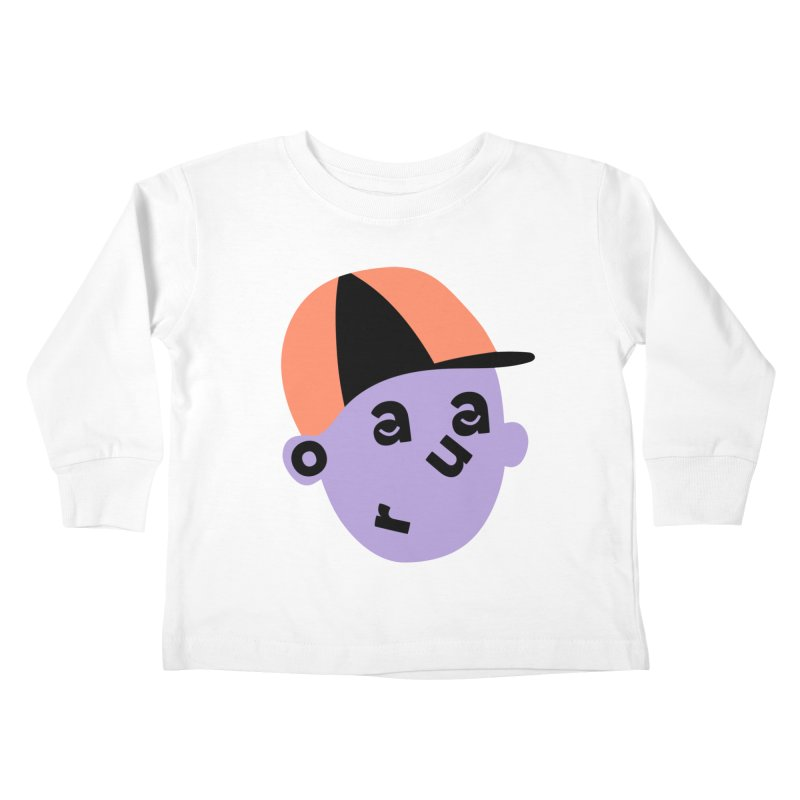Aaron Kids Toddler Longsleeve T-Shirt by Made by Corey