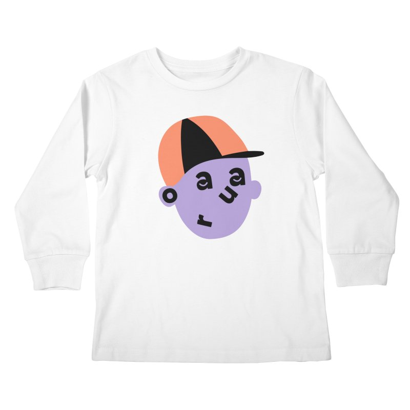 Aaron Kids Longsleeve T-Shirt by Made by Corey