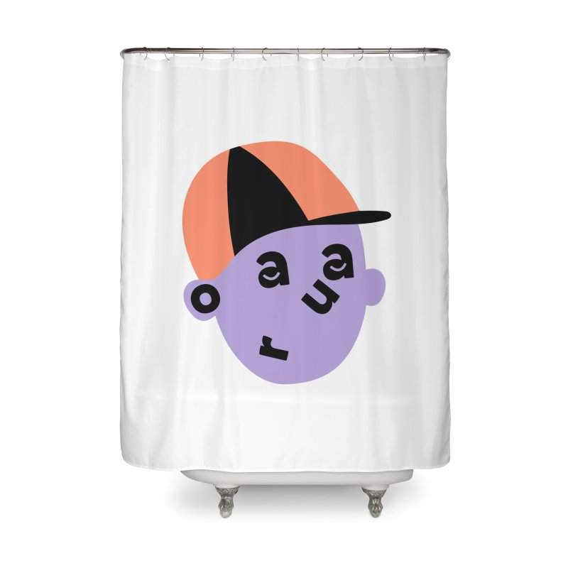 Aaron Home Shower Curtain by Made by Corey