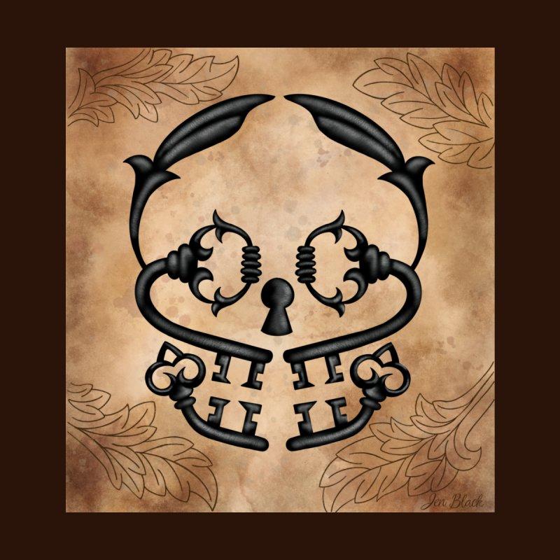 Key Skull by madebyjenblack's Artist Shop