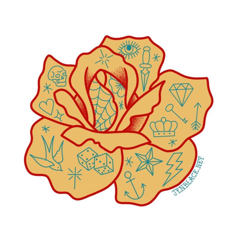 Tattooed Rose by madebyjenblack's Artist Shop