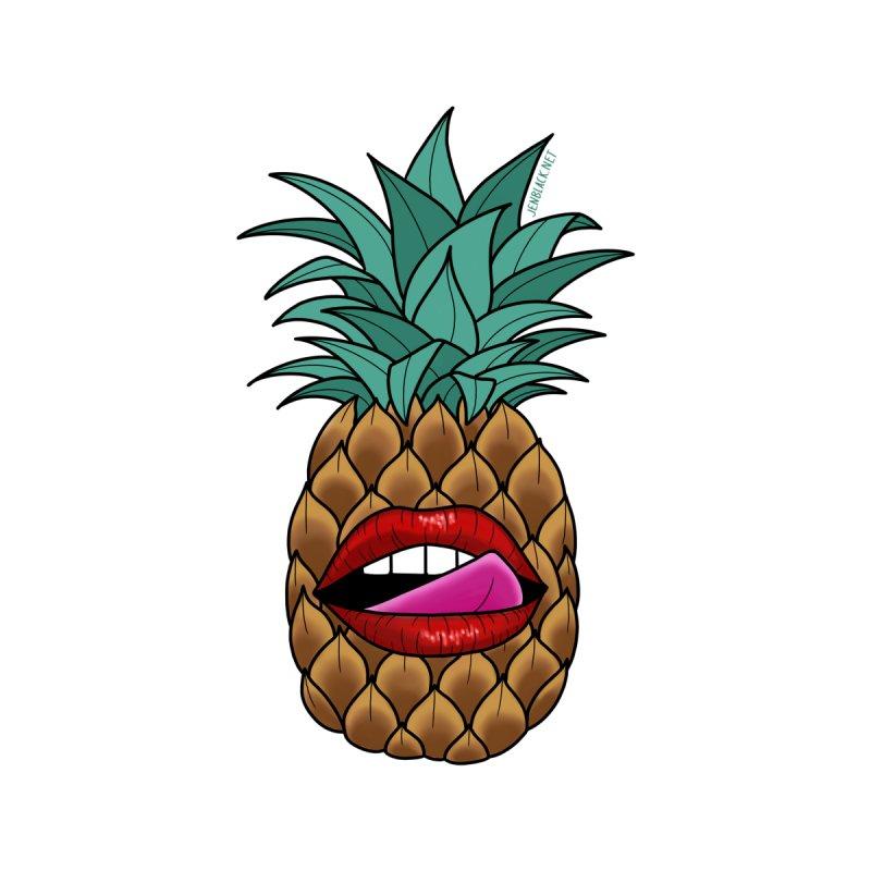Pineapple Face by madebyjenblack's Artist Shop