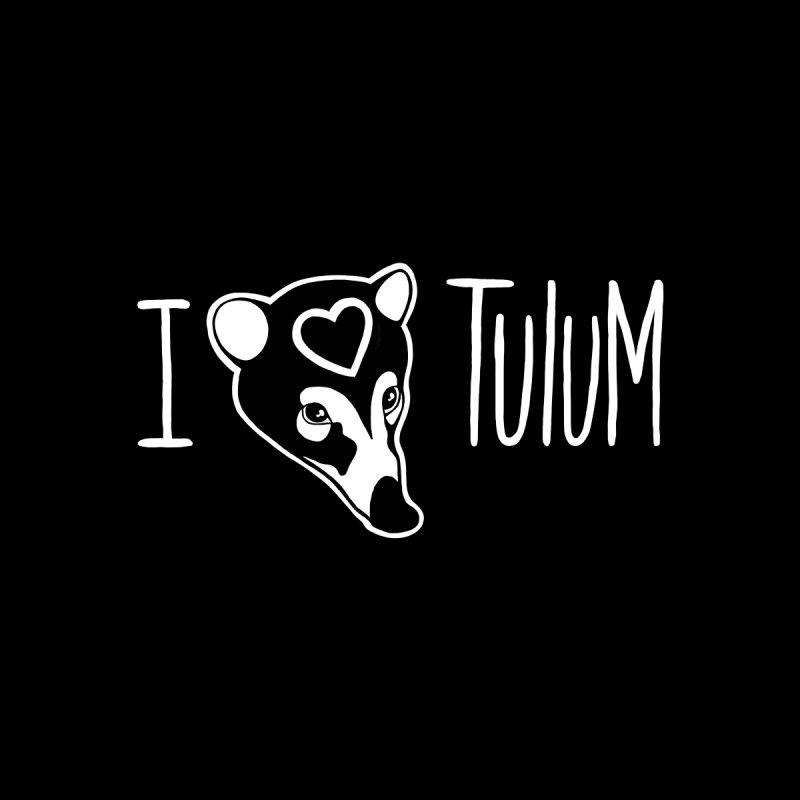 I Heart Tulum for dark shirt by madebyjenblack's Artist Shop