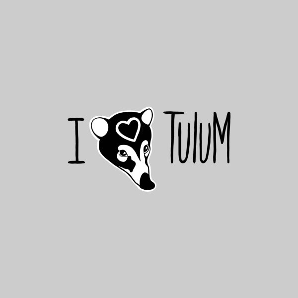 image for I Heart Tulum for light coloured shirt
