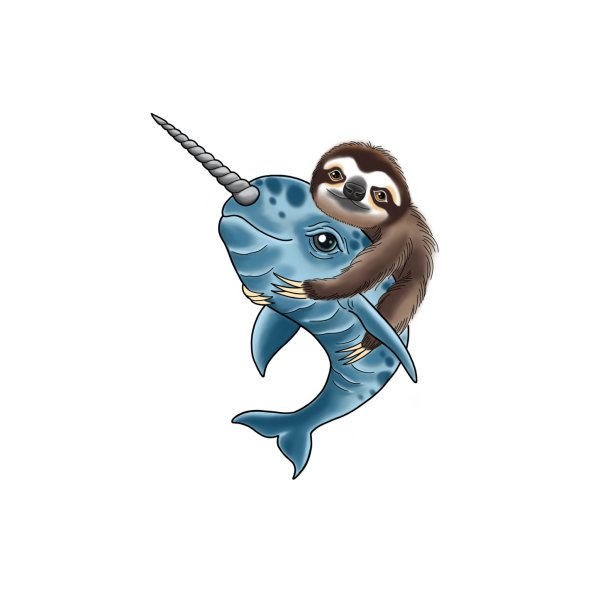 image for Sloth and Narwhal Pals
