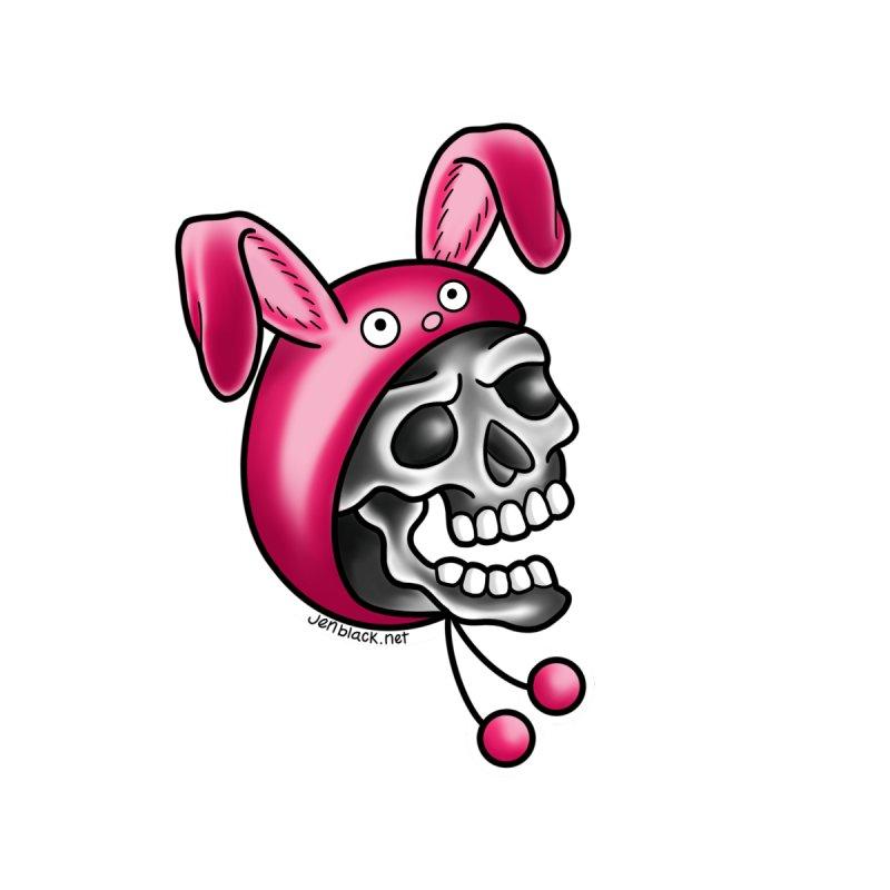 Skull Bunny by madebyjenblack's Artist Shop