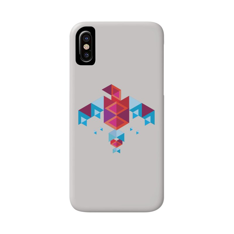 Geometric Bird Accessories Phone Case by Made by Siam