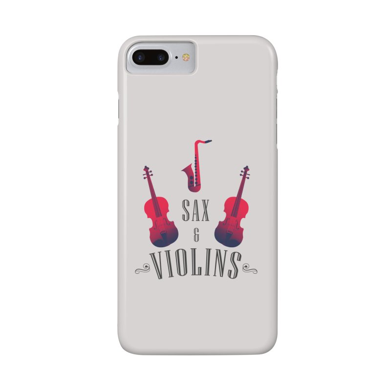 Sax & Violins Accessories Phone Case by Made by Siam