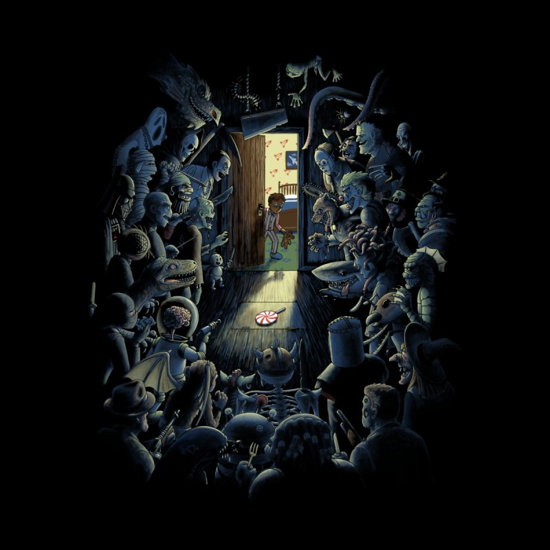 Be Afraid of the Dark by Made With Awesome