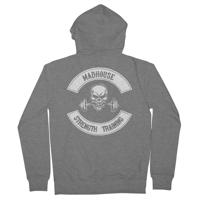 Shirts Men's French Terry Zip-Up Hoody by madhousestrengthtraining's Artist Shop