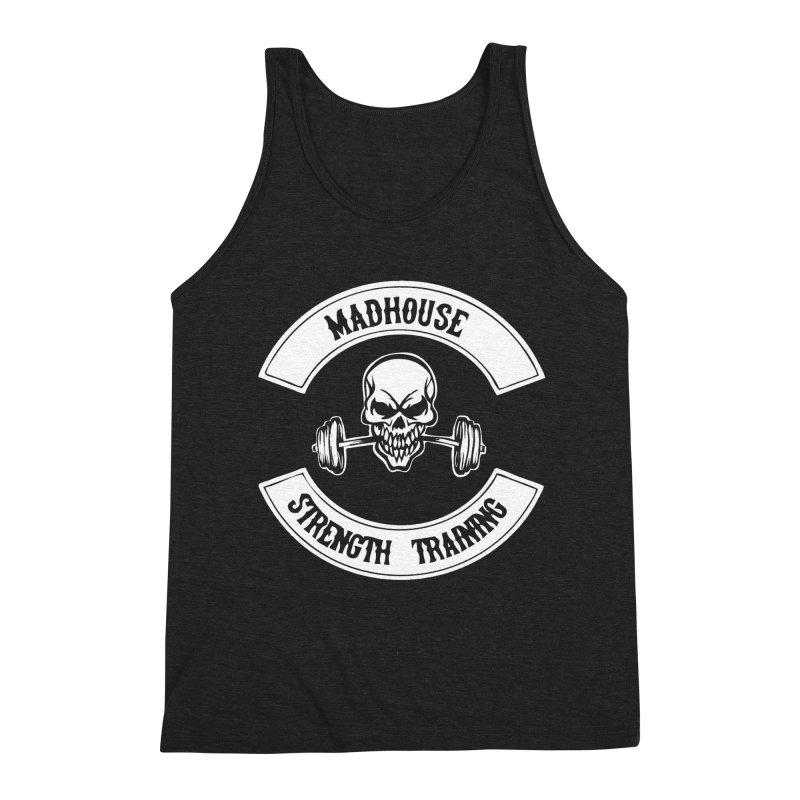 Shirts Men's Triblend Tank by madhousestrengthtraining's Artist Shop