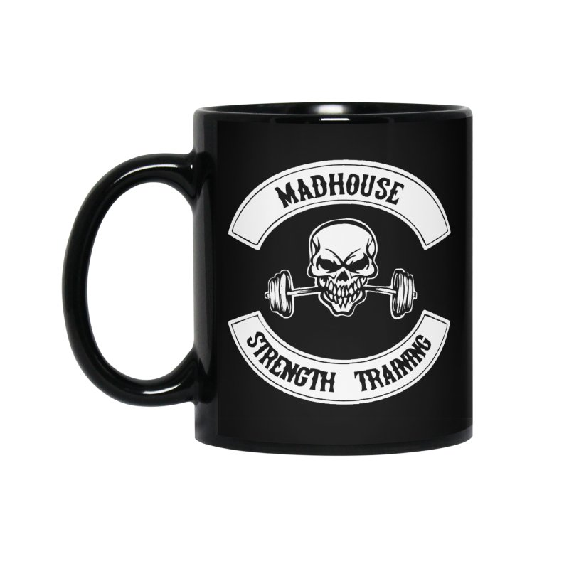 Accessories Accessories Standard Mug by madhousestrengthtraining's Artist Shop